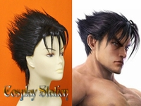 Tekken 6 Jin Kazama Custom Made Cosplay Wig