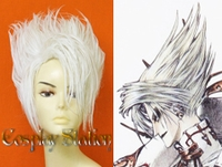 Trinity Blood Cain Nightroad Custom Made Cosplay Wig