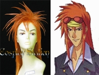 Weiss Kreuz Cosplay Schuldig Custom Made Cosplay Wig