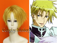 07 Ghost Frau Blond Cosplay Wig