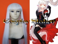 Chobits Chii Snow White Cosplay Wig