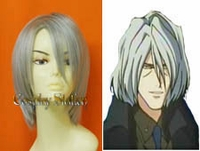 "Cowboy Bebop Vicious Silver Cosplay Wig_<font color=""red"">New Arrival!</font>"