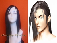 Final Fantasy XIII Laguna Loire Black Cosplay Wig
