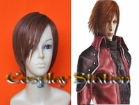 Final Fantasy VII 7 Genesis Rhapsodos Cosplay Wig