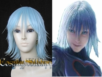 Kingdom Hearts Evil Riku Blue Cosplay Wig