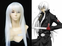 "Katekyo Hitman Reborn! Superbi Squalo White Cosplay Wig_<font color=""red"">New Arrival!</font>"