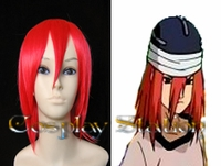 Naruto Tayuya Of The Sound Four Red Cosplay Wig
