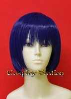 Short Dark Blue Cosplay Wig