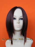 Medium Vermilion Cosplay Wig