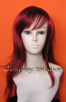 28 Inches Wavy Red Cosplay Wig