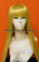35 inches Long Yellow Blonde Cosplay Wig