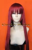 38  Inches Long Auburn Red Cosplay Wig