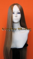 35 Inches Long Brown Cosplay Wig