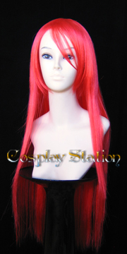 32 Inches Long Red Cosplay Wig