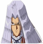 Yu Gi Oh Cosplay Pegasus Custom Made Cosplay Wig