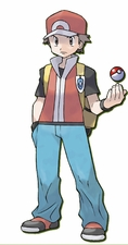 Pokemon Trainer Red  Cosplay Costume