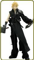 Final Fantasy XII Advent Children Cloud Strife Cosplay Costume