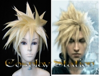 Final Fantasy Cloud Strife Cosplay Wig_New Design!