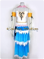 Final Fantasy XII Advent Children Yuan Cosplay Costume