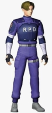 Resident Evil 2 Leon S. Kennedy Cosplay Costume