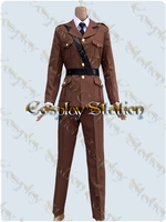 Hetalia Axis Powers Germany Cosplay Costume
