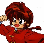 Ranma � Ranma Saotome Female Version Commission Cosplay Wig