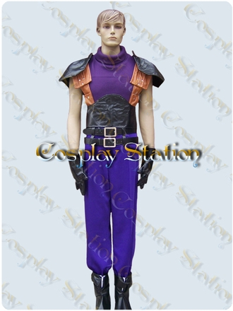Final Fantasy XII Crisis Core Zack Fair Cosplay Costume