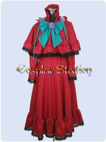 Rozen Maiden Shinku Lolita Cosplay Costume