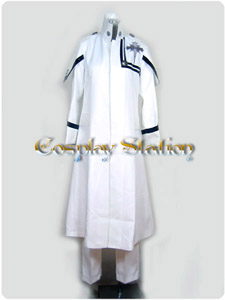 D.Gray Man Komui Lee Cosplay Costume
