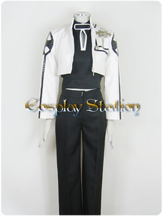 D.GRAY MAN Bak Chan Cosplay Costume
