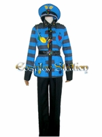 Heart No Kuni No Alice Tweedle-Dee Cosplay Costume