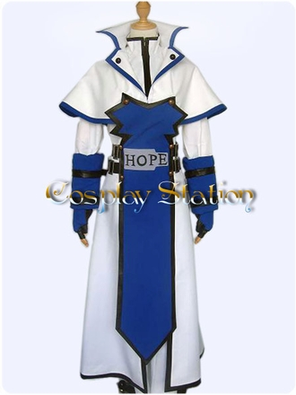 Guilty Gear Ky Kiske Cosplay Costume