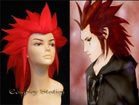 Kingdom Hearts II Organization XIII Axel Cosplay Wig