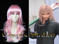 Kingdom Hearts II Organization XIII  Marluxia Cosplay Wig