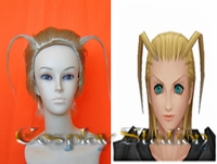 Kingdom Hearts II Organization XIII  Larxene  Cosplay Wig