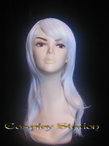 Castlevania Juste Belmont White Cosplay Wig