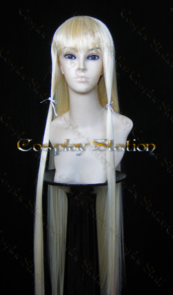 Chobits Chii Super Long Cosplay Wig