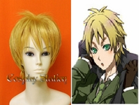 Hetalia Axis Powers England Blond Cosplay Wig
