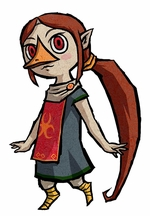 The Legend Of Zelda The Wind Waker Medli Cosplay Costume