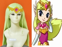 The Legend of Zelda Cosplay Wind Walker Zelda Wig