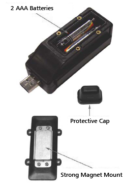 Professional Mini Tracker - Vehicle GPS  - Covert Hidden Tracking Device logger