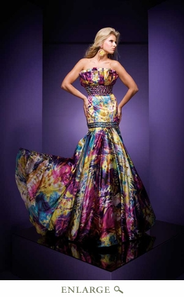 Paris Prom Dress 110744