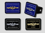 Submarine Trailer Hitch Covers