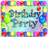 <b><font color=blue>Birthday Parties</font>