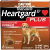 Heartgard Plus Large Dog  50 - 99 lbs - 23-45 kg ( 6 Month Pack)