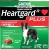 Heartgard Plus Medium Dog   26 - 50 lbs  - 12 - 24 kg ( 6 Mth Pack  )