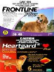 Frontline� Plus - Heartgard Plus - Combo Large Dogs (44 - 88 Lb) 6 Month Pk