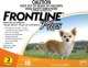 Frontline� Plus (Orange) Dog 2 - 22.5 Lbs  (0 to 10 kg) (3 Month Pack)