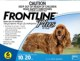 Frontline� Plus for Dogs (22 to 44lbs) 10 to 20kg (6 Month Pack)