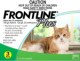 Frontline� Plus for Cats ( 2- 22 lbs) 0 - 10kg ( 6 Month Pack)